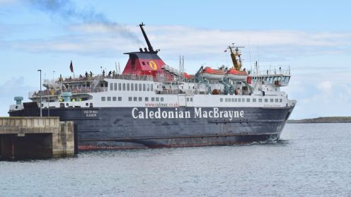 TMF - the MV Isle of Mull with greater capacity for foot passengers 16th July