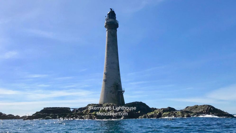 Tiree Sea Tours trip to Skerryvore Lighthouse