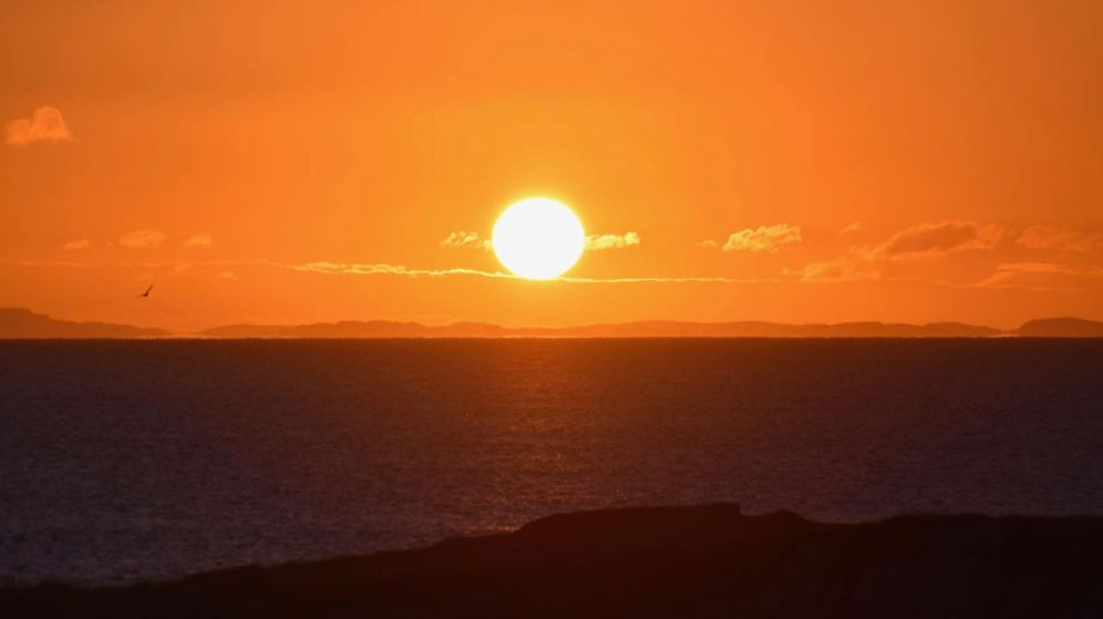 Sunrise over the Passage of Tiree