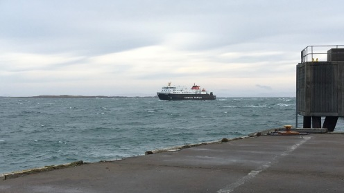 The MV Clansman (Sunday)