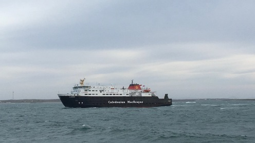 The MV Clansman )Gott Bay)