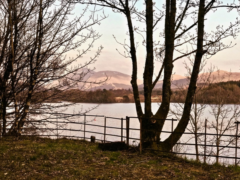 The view at Loch Awe