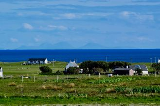 A view of the 'Paps of Jura' from Vaul